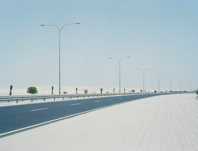 @ Sara Al Obaidly / Out of Town, from the series, Concrete Diaries