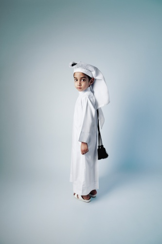 @ Sara Al Obaidly / Youth and Manhood, from the series , Qatar: Old Hearts, New World