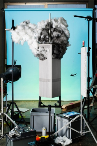 © Cortis and Sonderegger - Making of 9/11 , from the series, Ikonen