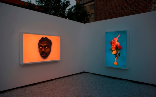 Christto & Andrew featured in Village Motel exhibition at Galerie Blanc in Montreal