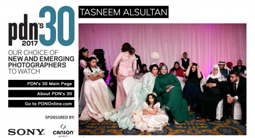 Tasneem Alsultan one of Photo District News top 30 photographers