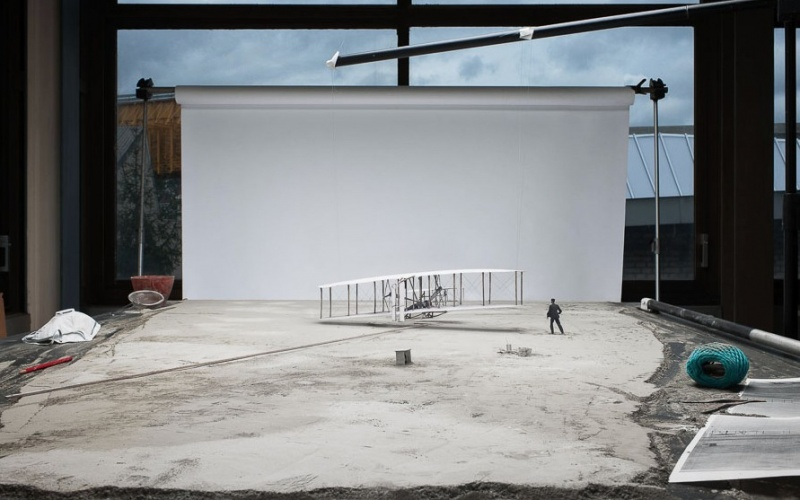"© Cortis & Sonderegger, Making of ""The Wright Brothers"" (by John Thomas Daniels, 1903), 2013"