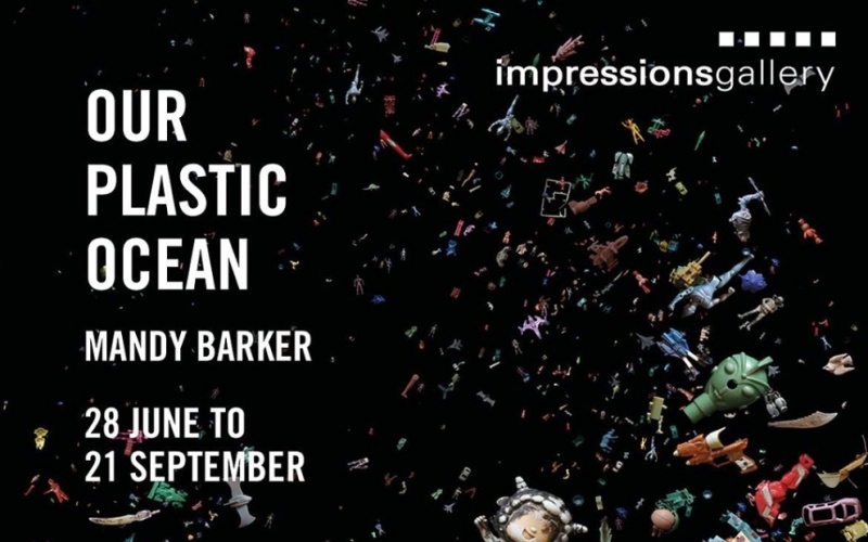 © Mandy Barker | Our Plastic Ocean opening at Impressions Gallery, Bradford, UK