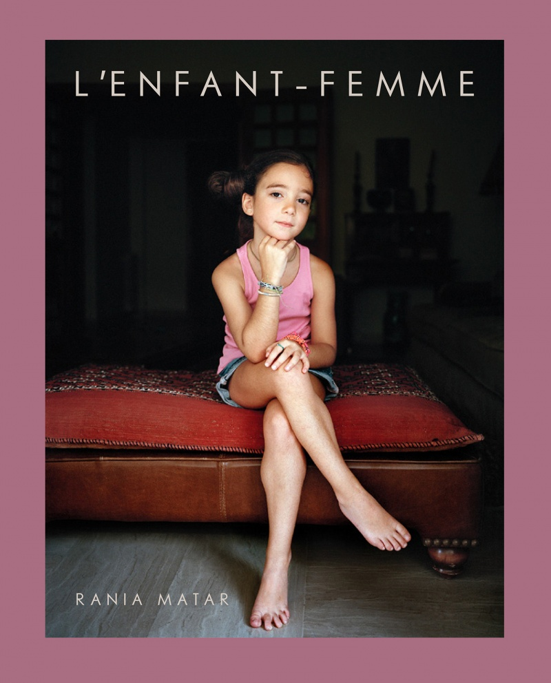 © Rania Matar cover of her book LEnfant - Femme