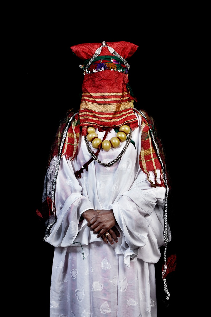 © Leila Alaoui -The Moroccans Khamlia Bride, South of Morocco (2014)