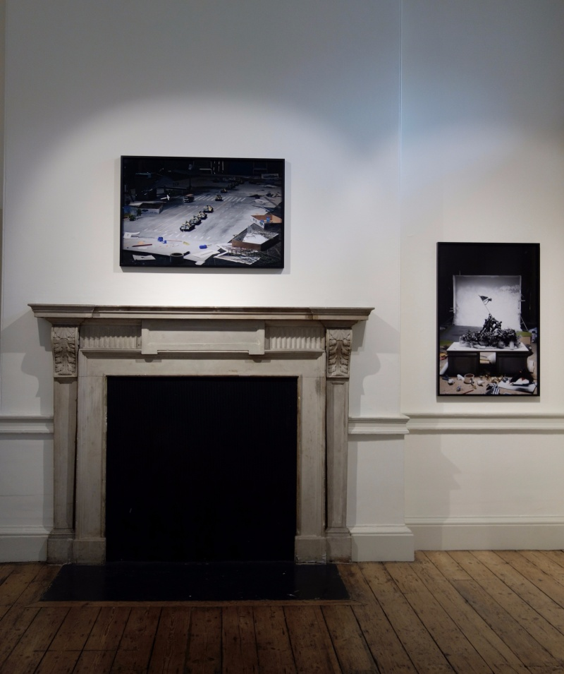 Installation shot Icons at Photo London
