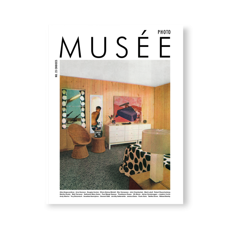 Cover Musée Magazine issue 23 | Choices